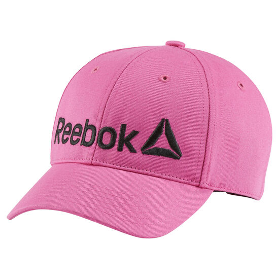 Reebok - Kids Logo Cap Charged Pink/Black BP9596