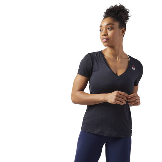 Reebok - Reebok CrossFit ACTIVCHILL T-Shirt Black CD5765