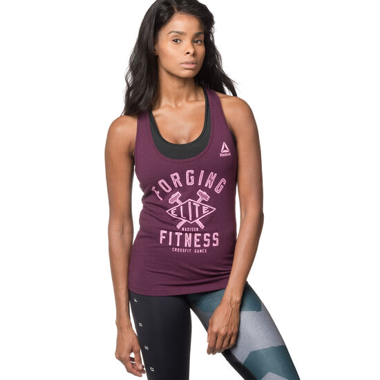Reebok - Reebok CrossFit Games Forging Elite Fitness Diamond Tank Pacific Purple DN8121