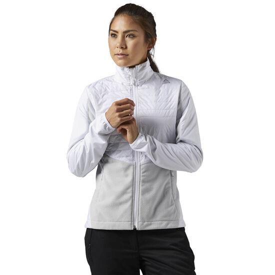 Reebok - Outdoor Combed Fleece Jacket White S96421