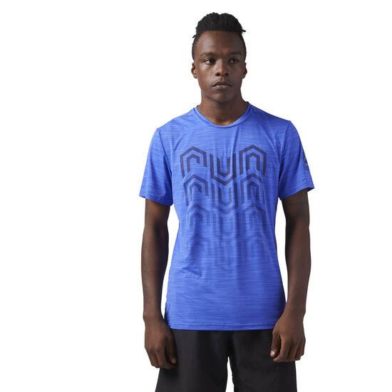 Reebok - ACTIVCHILL Running T-Shirt Acid Blue CW0468