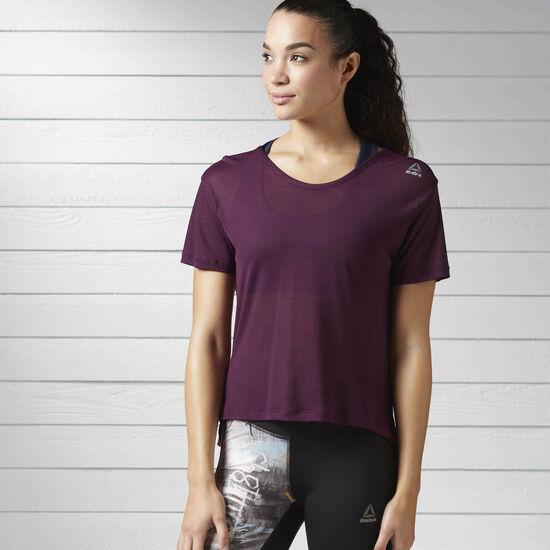 Reebok - Workout Ready ACTIVCHILL Slub Tee Pacific Purple BK4874