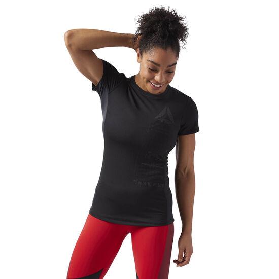 Reebok - ACTIVCHILL Graphic T-Shirt Black CF5952