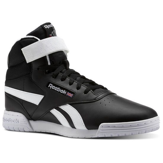 Reebok - Ex-O-fit Clean Hi S Black/White BS5326