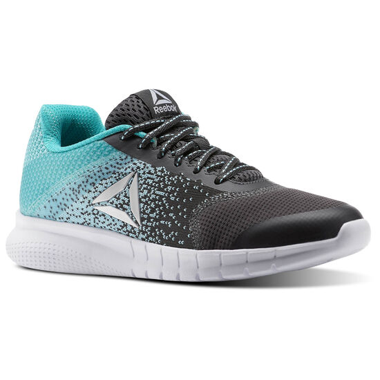 Reebok - Reebok Instalite Run Ash Grey/Blue Lagoon/Solid Teal/White CN0853
