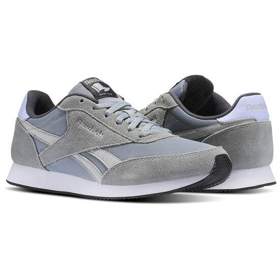 Reebok - Reebok Royal Classic Jogger 2 Flint Grey/Skull Grey/Lilac Glow/Ash Grey BS7009