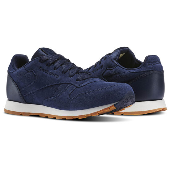 Reebok - Classic Leather SG - Primary School Collegiate Navy/Chalk-Gum BS8949