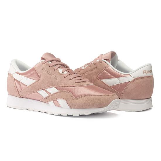 Reebok - Classic Nylon SU Shell Pink/White CN1647