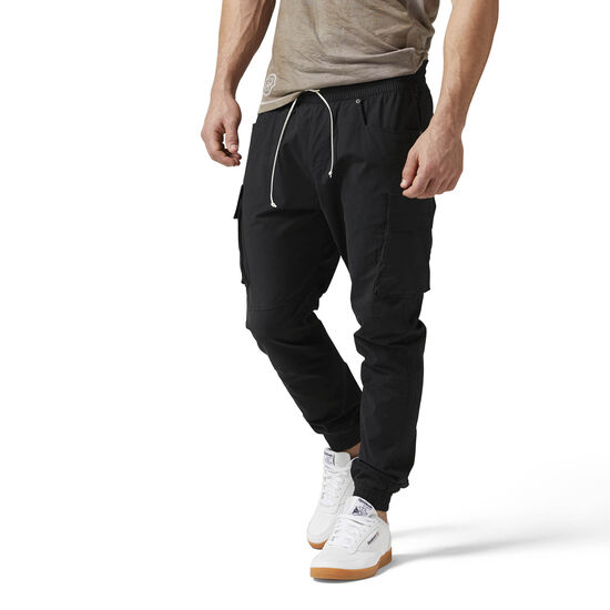 Reebok - The Noble Fight Woven Pants Black BQ5689
