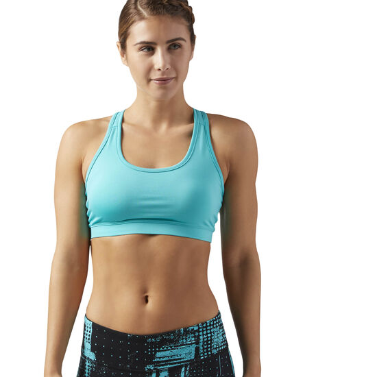 Reebok - Workout-Ready Sports Bra Turquoise/Solid Teal CD5919