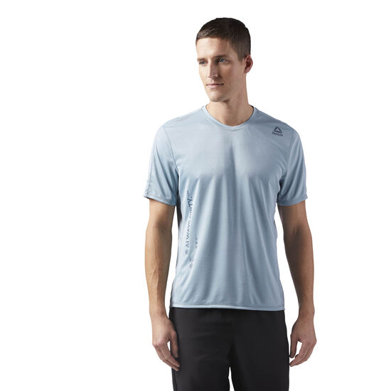 Reebok - Obstacle Course T-Shirt Blue/Whisper Teal CE0131