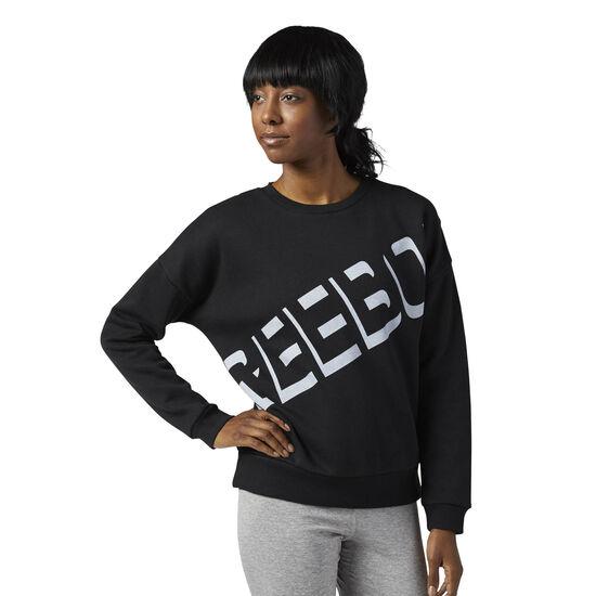 Reebok - Workout Ready Crewneck Sweatshirt Black BQ2423
