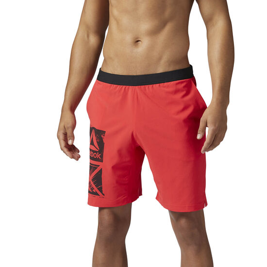 Reebok - Graphic Speed Short Glow Red BQ3524