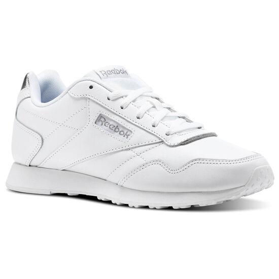 Reebok - Reebok Royal Glide LX White/Silver Metallic CN0458