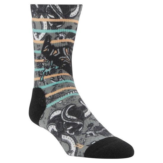 Reebok - Reebok CrossFit Graphic Socks Black CV5995