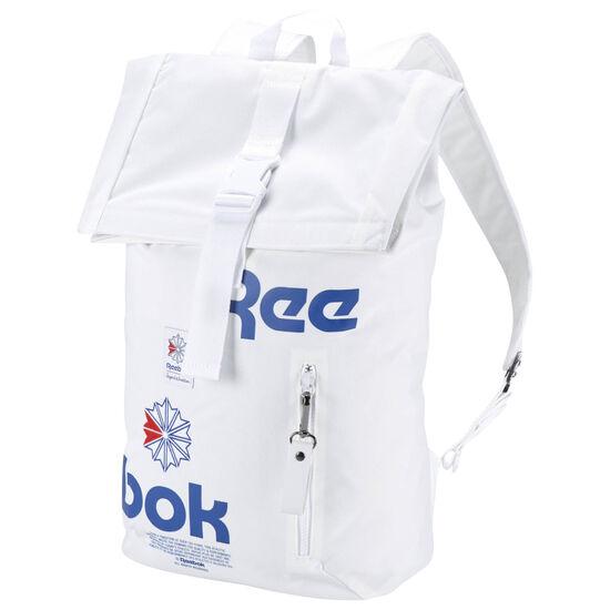Reebok - Classic Fold-Top Backpack White CW5012