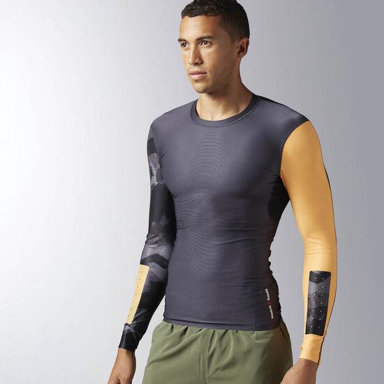 Reebok - Reebok CrossFit Long Sleeve Compression Shirt Lead BK1068