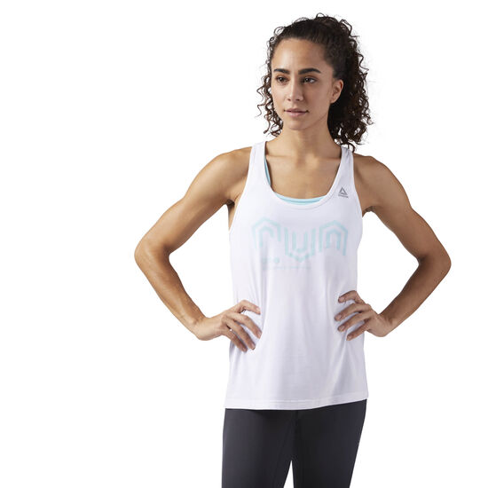Reebok - ACTIVCHILL Cooling Tank Top White CE4522