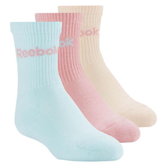 Reebok - Crew Sock - 3pair Squad Pink/Desert Dust/Blue Lagoon CD6537