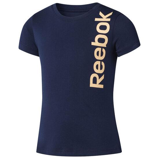 Reebok - Graphic Crewneck T-Shirt Collegiate Navy CF4225