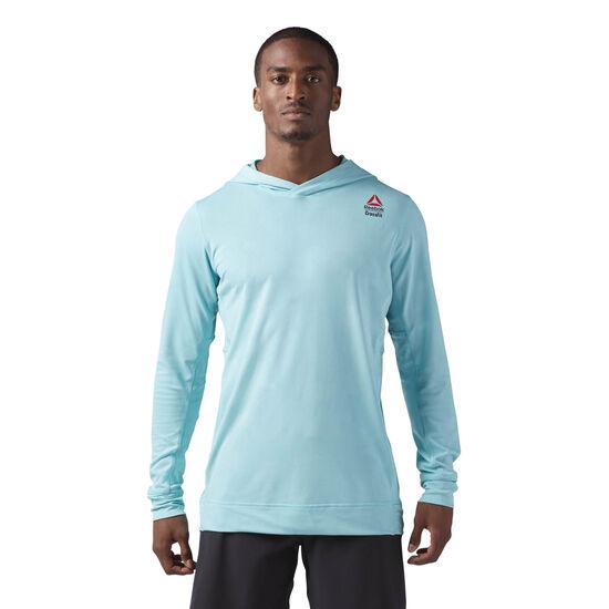 Reebok - Reebok CrossFit Jacquard Hoodie Turquoise CD4475
