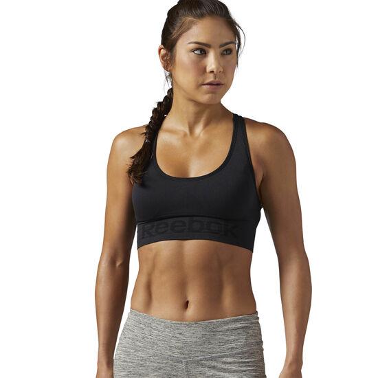 Reebok - Workout Ready Seamless Sports Bra Black CE7789