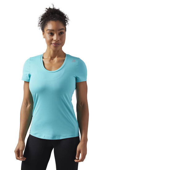 Reebok - Workout Ready Speedwick Tee Turquoise/Solid Teal CF8683