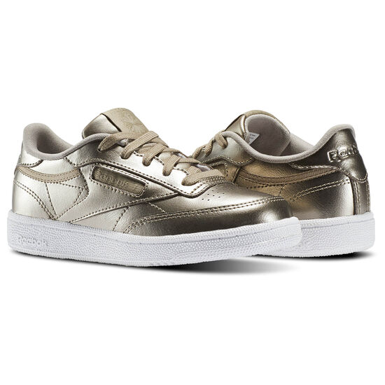 Reebok - Club C - Pre-School Gold/Grey Gold/White CM8740