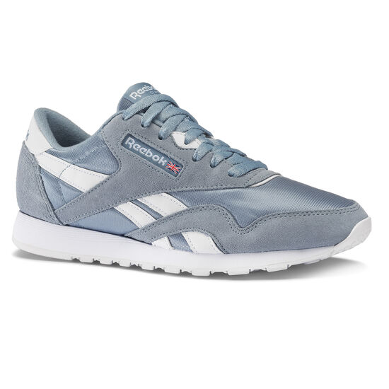Reebok - Classic Nylon Rain Cloud/White CN4250