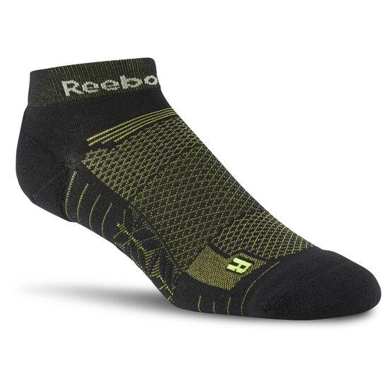 Reebok - Reebok ONE Series Running Unisex Ankle Sock Black/Semi Solar Yellow CD0775