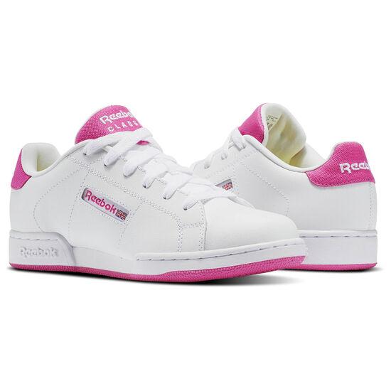 Reebok - NPC II Pop-White/Charged Pink BS6081