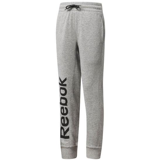 Reebok - Boy's Reebok Sweatpants Medium Grey Heather CF4286