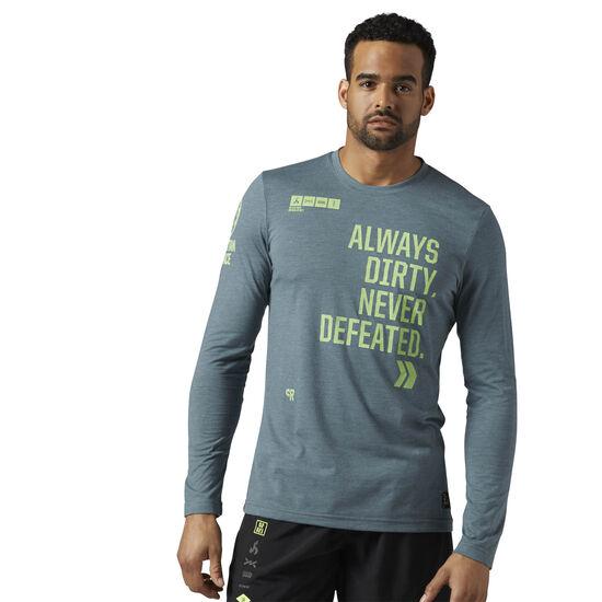 Reebok - Reebok Spartan Race Long Sleeve Shirt Iron Stone BR4550