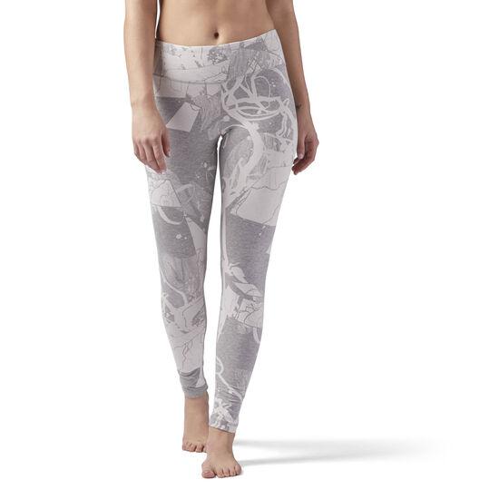 Reebok - Elements Leggings Medium Grey Heather CF8600