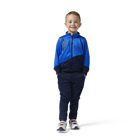 Reebok - Boys Essentials Tracksuit Vital Blue BQ9938