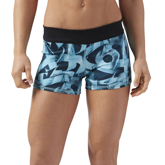 Reebok - Reebok CrossFit Bootie Shorts Turquoise CD3873