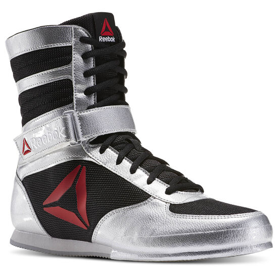 Reebok - Reebok Boxing Boot - PAT Silver Metallic/Black/White BD1346