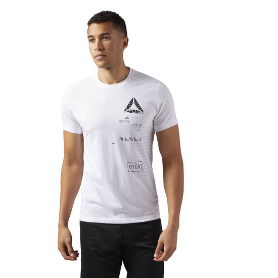 Reebok - Speedwick Graphic Tee White CD5218