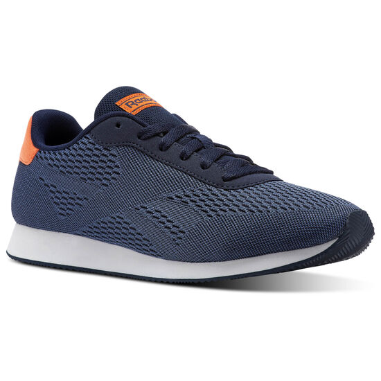 Reebok - Reebok Royal Classic Jog PXKT Collegiate Navy/Washed Blue/Bright Lava/White CN0442