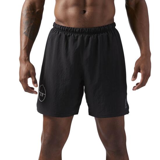 Reebok - LES MILLS Shorts - 18 cms Black CD6180