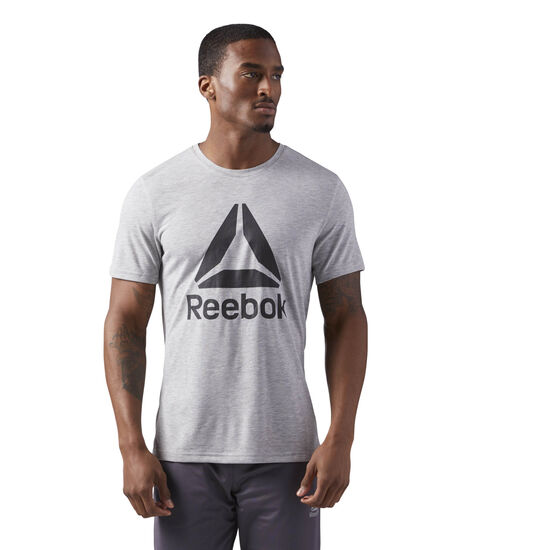 Reebok - Workout Ready Supremium 2.0 Tee Medium Grey Heather CE3845