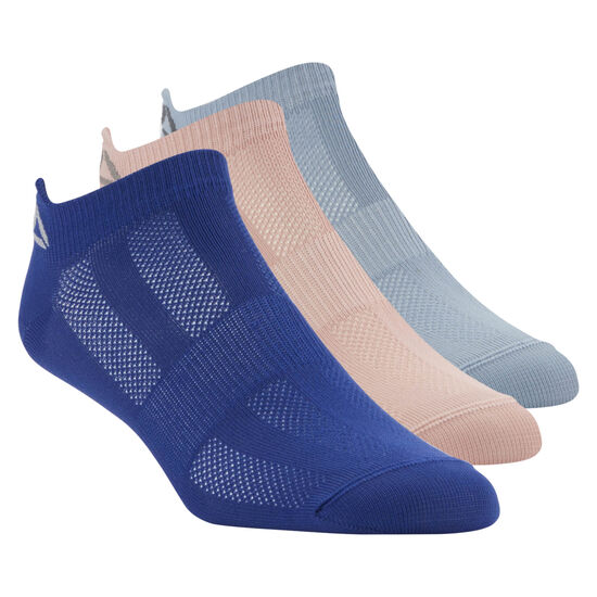Reebok - Reebok ONE Series Socks - 3pack Deep Cobalt/Rain Cloud/Chalk Pink CV6902