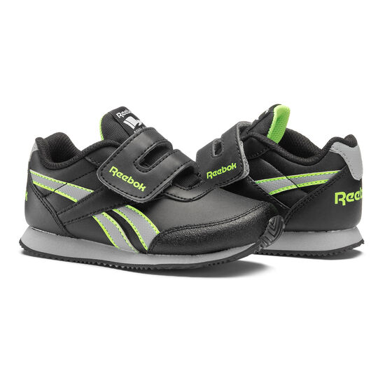 Reebok - Reebok Royal Classic Jogger Black/Flint Grey/Solar Green BS8721