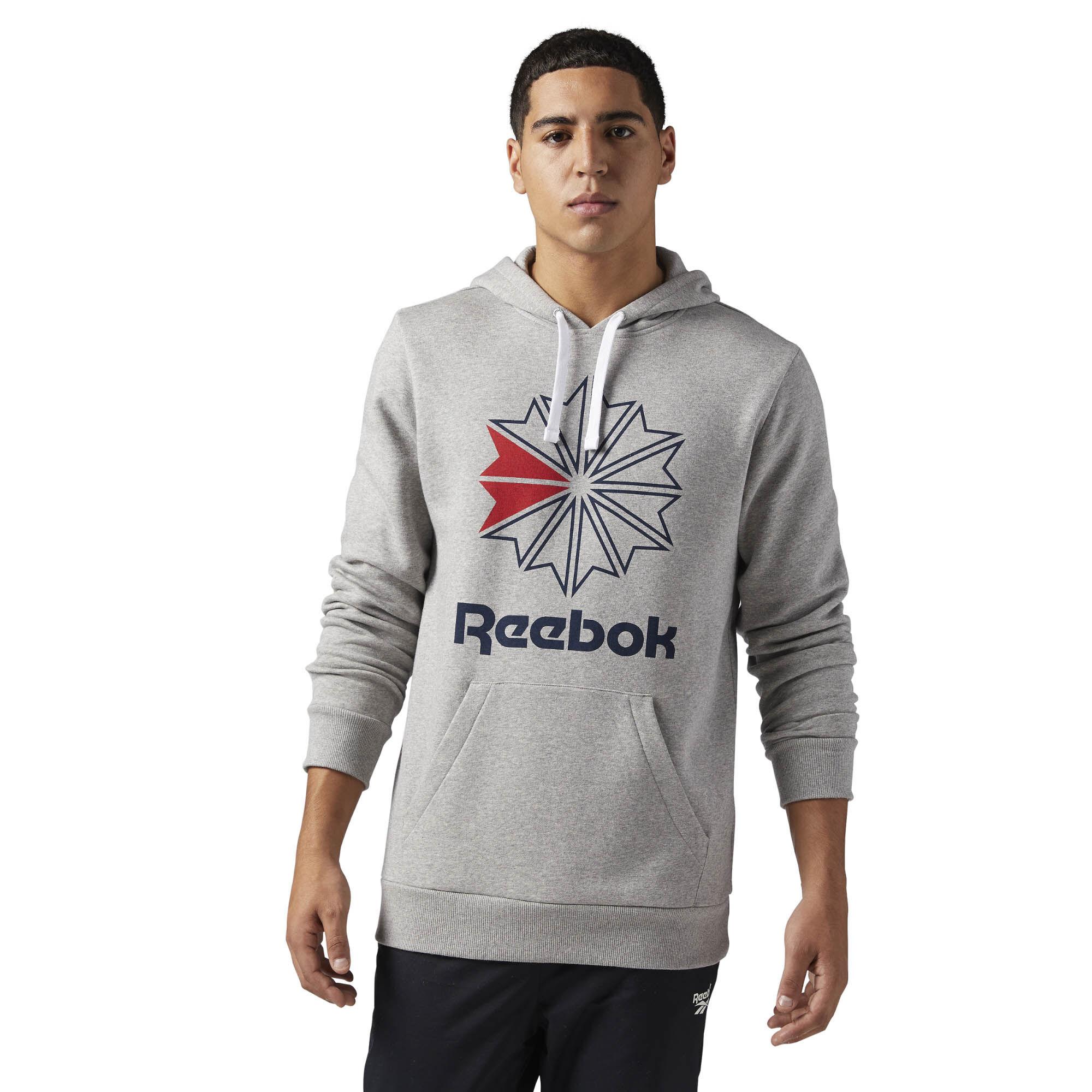 reebok classic mens clothing