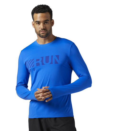 Reebok - Running ACTIVCHILL Long Sleeve Shirt Vital Blue BR4376