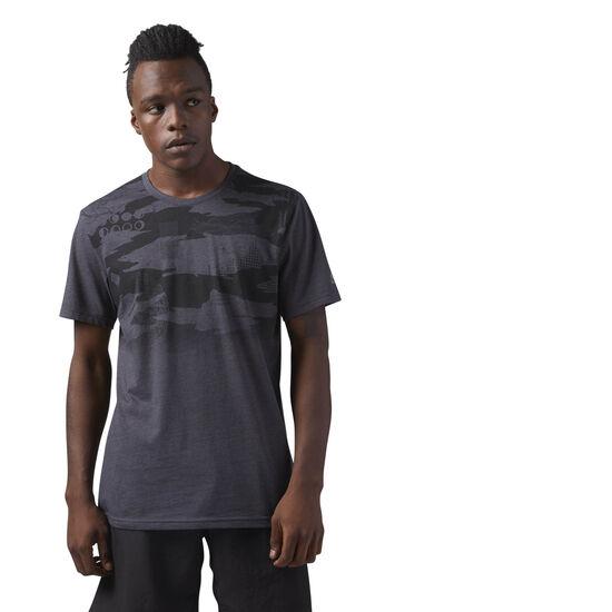 Reebok - Athletic Cotton T-Shirt Black CE0134