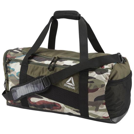 Reebok - Reebok Duffle Bag - 48L Camo Print Army Green BQ4813