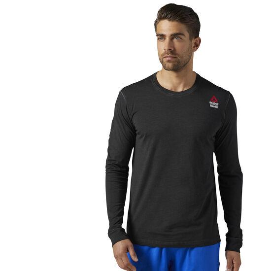 Reebok - Reebok CrossFit Long Sleeve Shirt Black BR4690