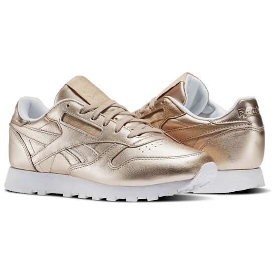 Reebok - Classic Leather Melted Metals Pearl Met-Peach/White BS7897