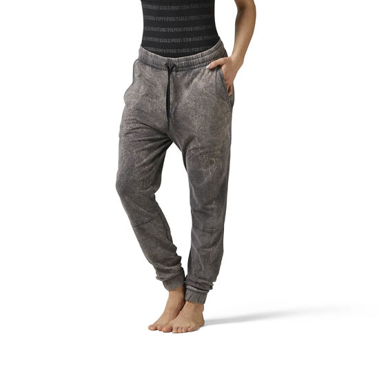 Reebok - Washed Jersey Pants Grey/Black BR2791